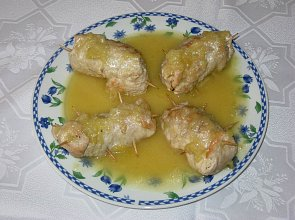 Jeżyki teściowej w żółtym sosie - ugotuj