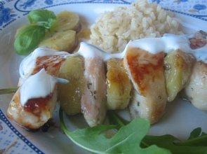 Aromatyczny kurczak z bananami - ugotuj