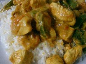 Kurczak Curry - ugotuj