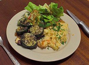 Tofu zapiekane z warzywami - ugotuj