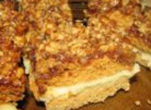 Ciasto Snikers - ugotuj
