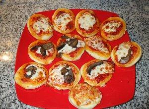 Pizzette (małe pizze) - ugotuj
