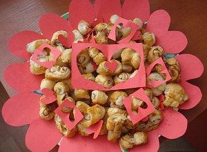 Walentynkowe ciasteczka - ugotuj