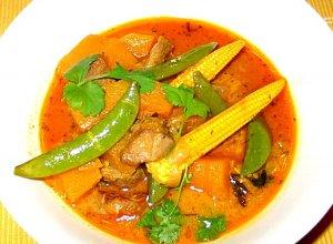 Curry z jagnięciną i dynią - ugotuj