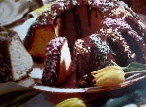 Babka piaskowa z polewą czekoladową