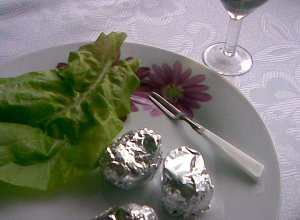 Ślimaki zapiekane w muszlach z białym winem - ugotuj
