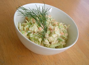 Surówka Coleslaw - ugotuj