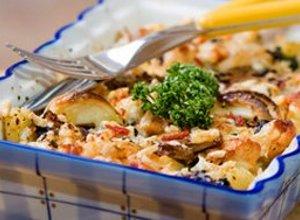 Zapiekanka ziemniaczana z serem - ugotuj