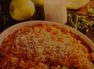 Zapiekanka z jabłek - ugotuj