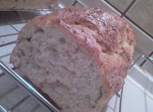 Bardzo prosty i smaczny chlebek... - ugotuj