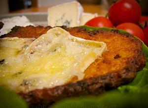 Placki ziemniaczane z serem pleśniowym - ugotuj