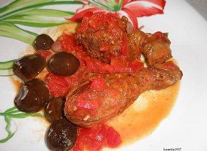 Pałki w czerwonym sosie - ugotuj