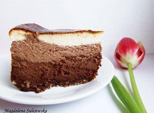 Wielkanocny sernik czekoladowy-KOMKURS - ugotuj