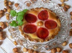 Tartaletki z serem i śliwkami - ugotuj