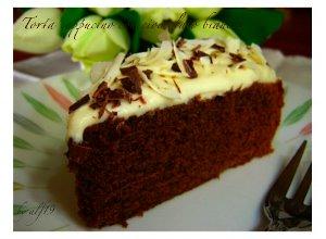 Tort cappuccino z białą czekoladą - ugotuj