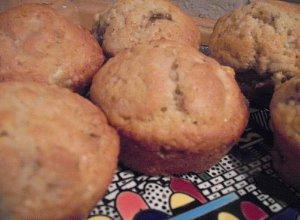 Muffiny bananowo-orzechowe - ugotuj
