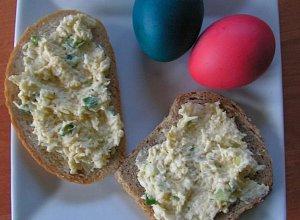 Pasta jajeczno-serowa - ugotuj