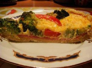 Tarta brokułowa - ugotuj