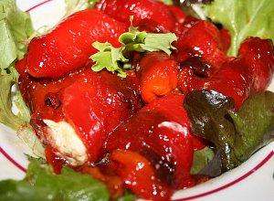 Zawijane grilowane papryczki - ugotuj