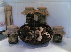 Marynowane grzybki