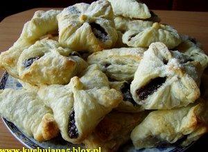 Ciasteczka z nadzieniem makowym - ugotuj