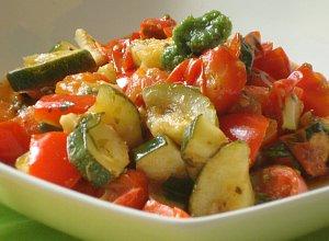 Caponata czyli duszone warzywa śródziemnomorskie - ugotuj
