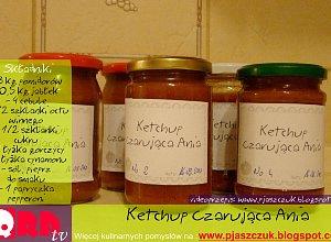 Ketchup Czarująca Ania - ugotuj