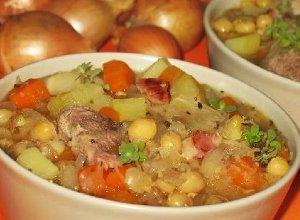 Zupa grochowa z kapustą - ugotuj