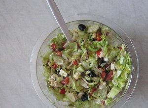 Sałatka grecka - ugotuj