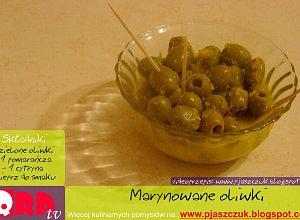 Tapas - marynowane oliwki - ugotuj