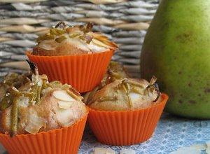 Pałeczki gruszki na muffinie - ugotuj