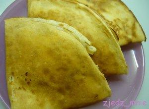 Maślane naleśniki z serem - ugotuj