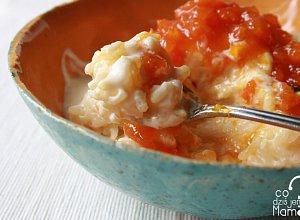 Mleczne risotto ze smażoną dynią z cytryną - ugotuj