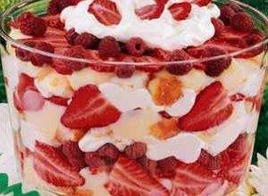 Trifle truskawkowe - ugotuj