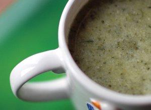 Zielona zupa krem z brokułów - ugotuj
