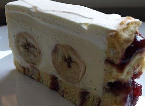 Bananowe ciasto na roladzie - ugotuj