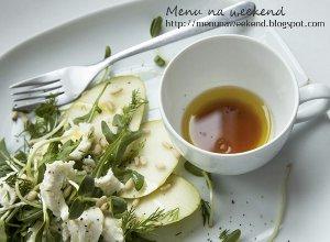 Sałatka z gruszką i mozzarellą - ugotuj