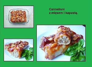 Cannelloni z mięsem i kapustą