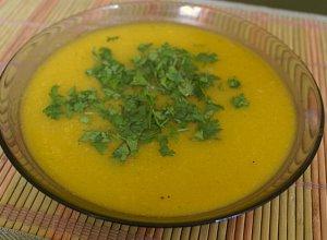 Zupa krem z dyni - ugotuj