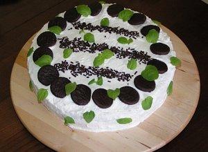 Tort miętowy - ugotuj