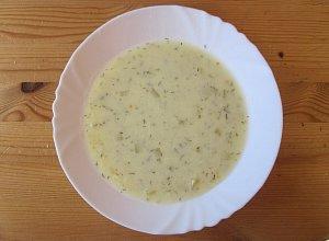 Zupa ze świeżego ogórka - ugotuj