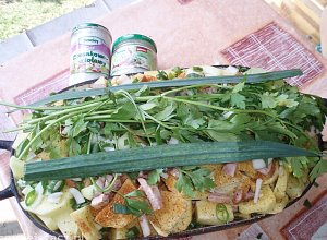 Kociołek z ziemniakami (na ognisku) - ugotuj