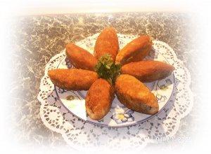 Krokiety z kajzerek - ugotuj