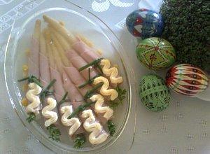 Szparagi w szynce - ugotuj