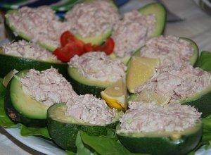Awokado z tuńczykiem