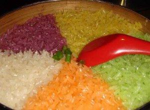 Kolorowy ryż - ugotuj