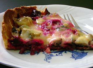 Tarta botwinkowa II z serkiem wiejskim - ugotuj