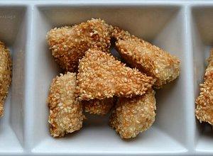Sezamowe kąski z kurczaka - ugotuj