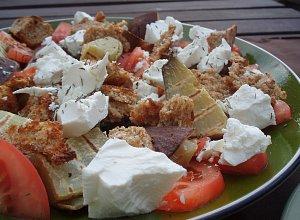 Sałatka z batatami - ugotuj