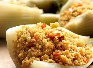 Fenkuł faszerowany warzywami i quinoa - ugotuj